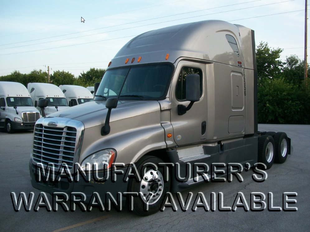 USED 2014 FREIGHTLINER CASCADIA SLEEPER TRUCK #127487