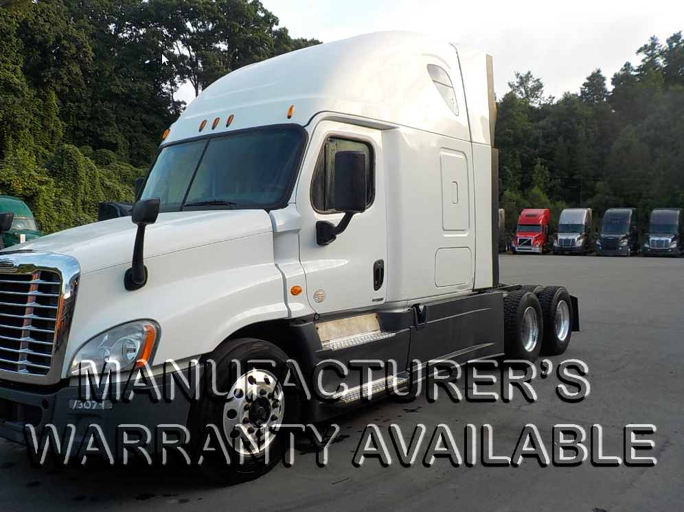 USED 2015 FREIGHTLINER CASCADIA SLEEPER TRUCK #127456