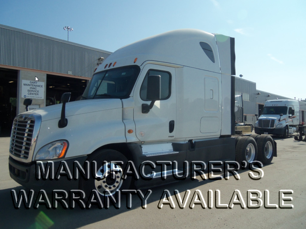 USED 2015 FREIGHTLINER CASCADIA SLEEPER TRUCK #127479