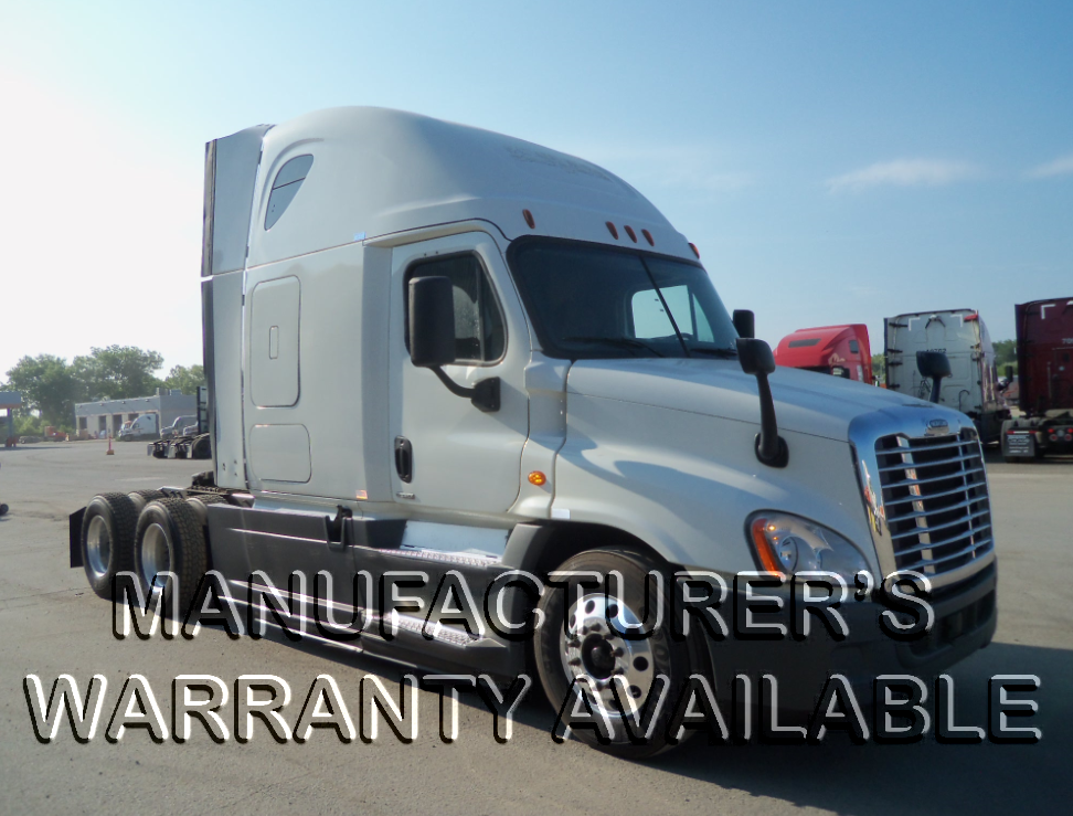 USED 2015 FREIGHTLINER CASCADIA SLEEPER TRUCK #127480