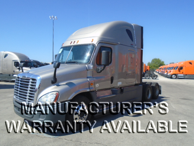 USED 2015 FREIGHTLINER CASCADIA SLEEPER TRUCK #127466