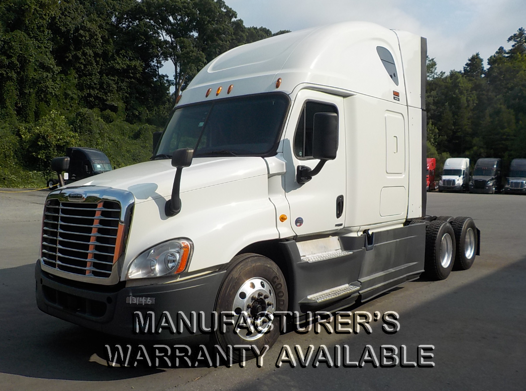 USED 2015 FREIGHTLINER CASCADIA SLEEPER TRUCK #128185