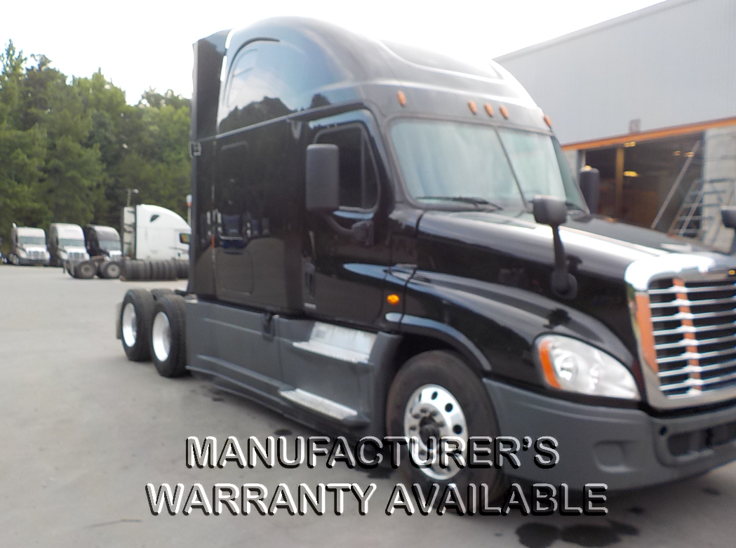 USED 2016 FREIGHTLINER CASCADIA SLEEPER TRUCK #128832