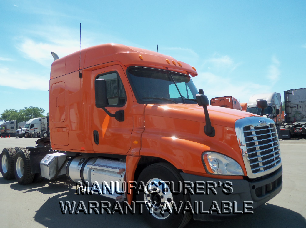 USED 2013 FREIGHTLINER CASCADIA SLEEPER TRUCK #129210