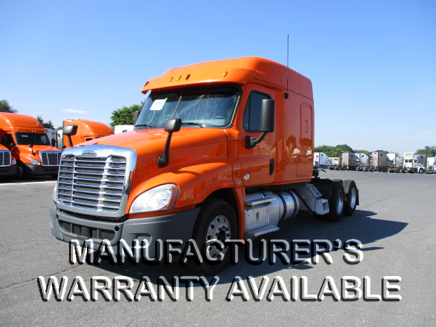 USED 2013 FREIGHTLINER CASCADIA SLEEPER TRUCK #129218