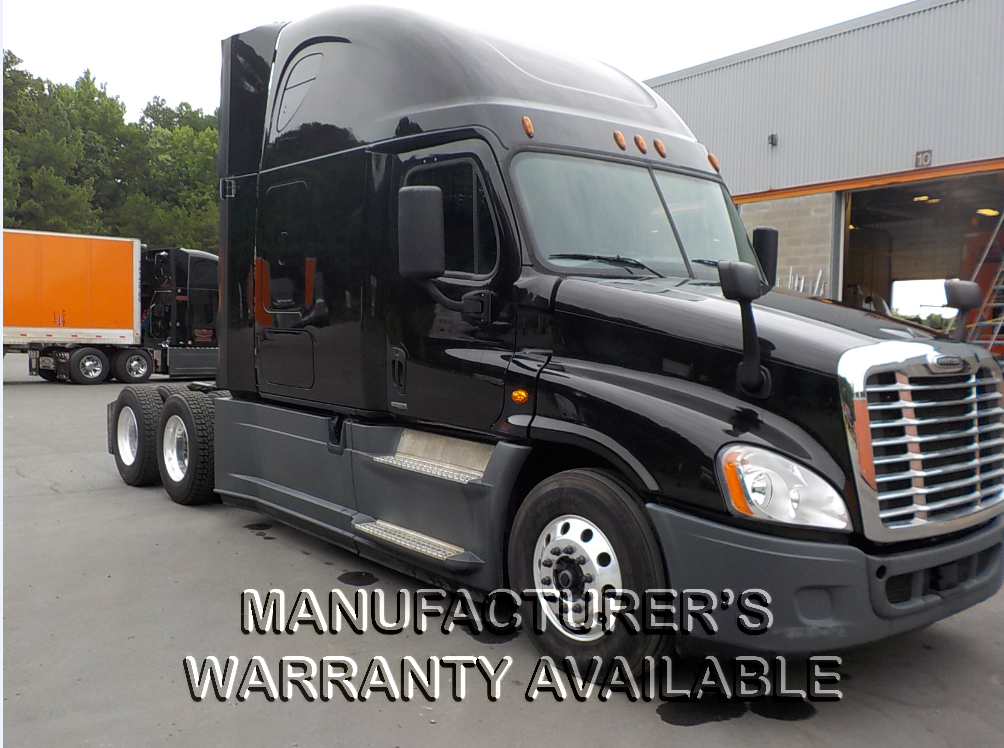 USED 2016 FREIGHTLINER CASCADIA SLEEPER TRUCK #129179