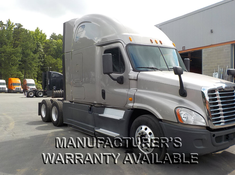 USED 2014 FREIGHTLINER CASCADIA SLEEPER TRUCK #129186