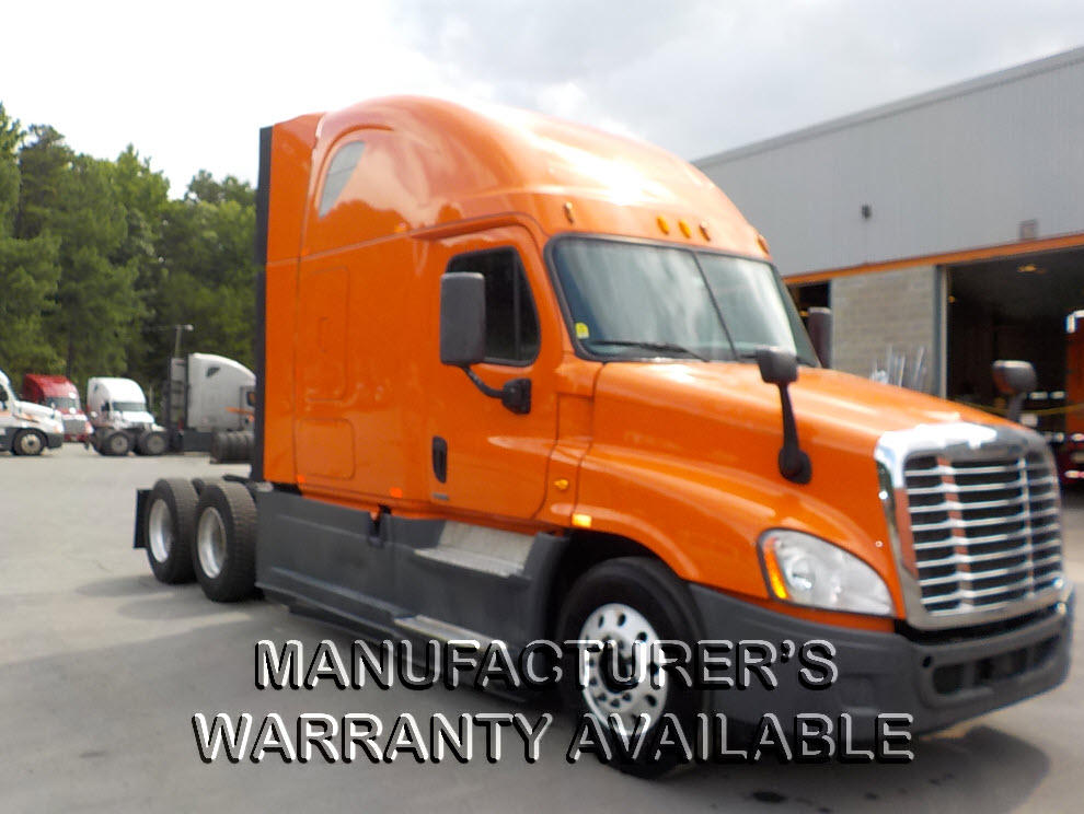 USED 2014 FREIGHTLINER CASCADIA SLEEPER TRUCK #129192