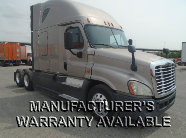 USED 2015 FREIGHTLINER CASCADIA SLEEPER TRUCK #129233