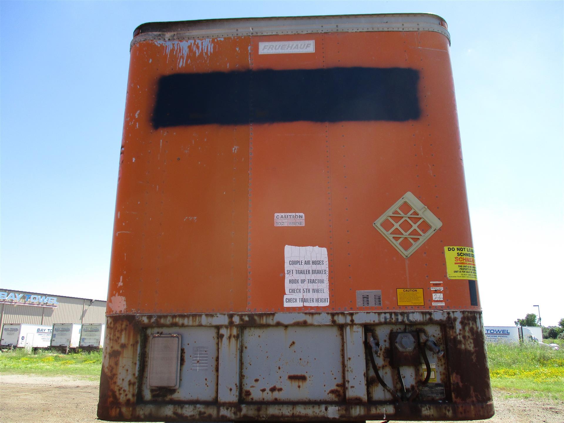 1984 Fruehauf Van for sale-59085563