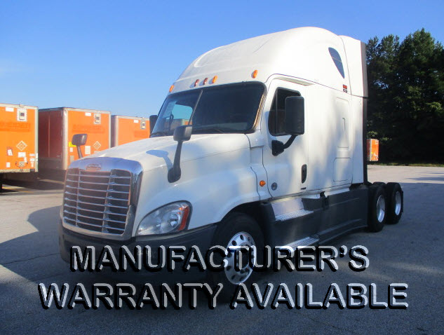 USED 2014 FREIGHTLINER CASCADIA SLEEPER TRUCK #130576