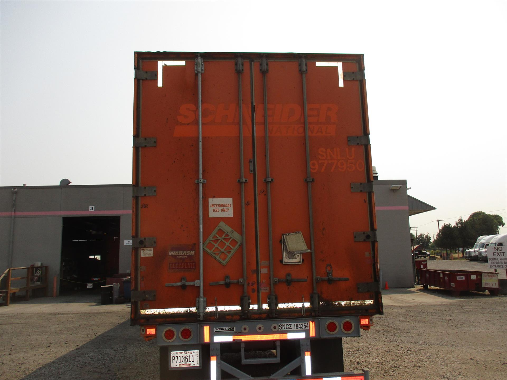 2006 Wabash CONTAINER for sale-59101316