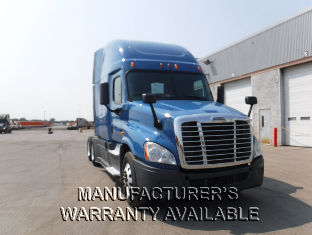 USED 2014 FREIGHTLINER CASCADIA SLEEPER TRUCK #81853