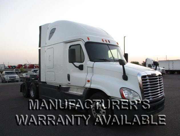 USED 2014 FREIGHTLINER CASCADIA SLEEPER TRUCK #130601