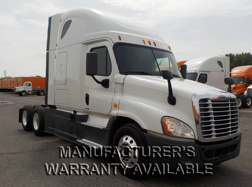 USED 2014 FREIGHTLINER CASCADIA SLEEPER TRUCK #81838