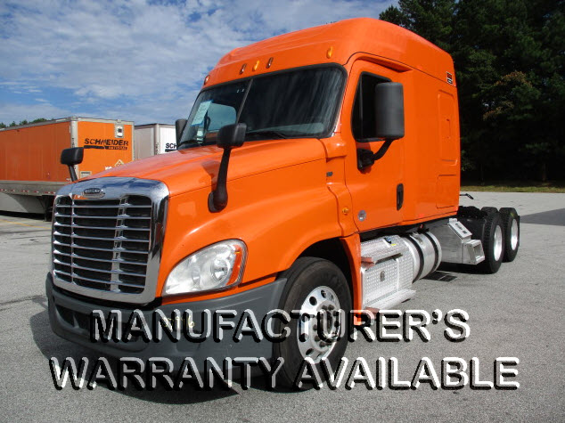 USED 2014 FREIGHTLINER CASCADIA SLEEPER TRUCK #131741