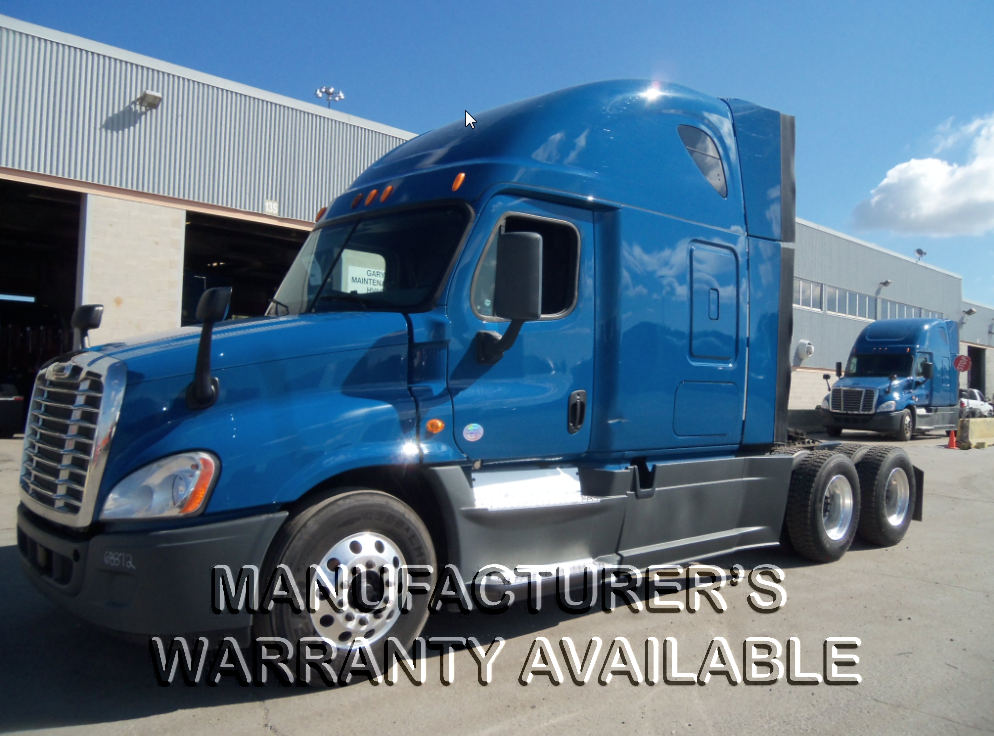 USED 2014 FREIGHTLINER CASCADIA SLEEPER TRUCK #82103