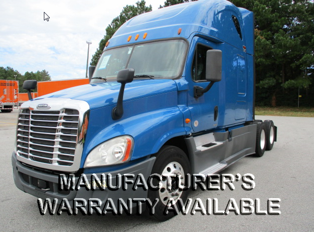 USED 2014 FREIGHTLINER CASCADIA SLEEPER TRUCK #131742