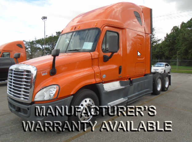 USED 2014 FREIGHTLINER CASCADIA SLEEPER TRUCK #122616