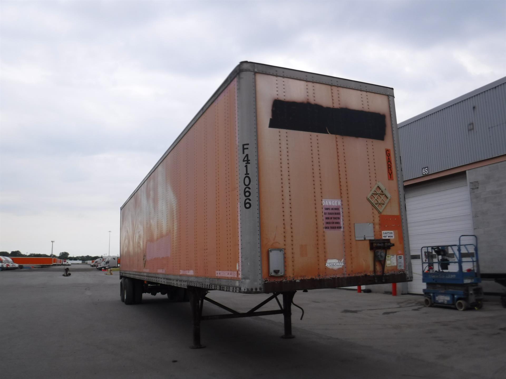 1988 Wabash Van for sale-59101288