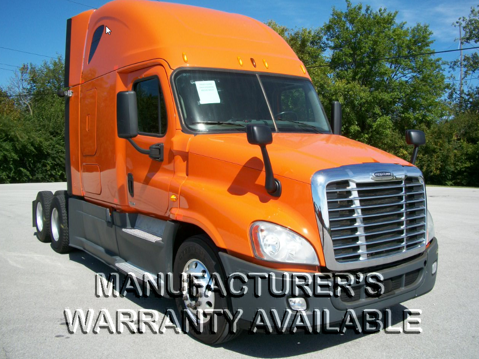 USED 2014 FREIGHTLINER CASCADIA SLEEPER TRUCK #131856