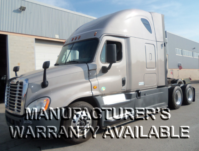 USED 2016 FREIGHTLINER CASCADIA SLEEPER TRUCK #133937