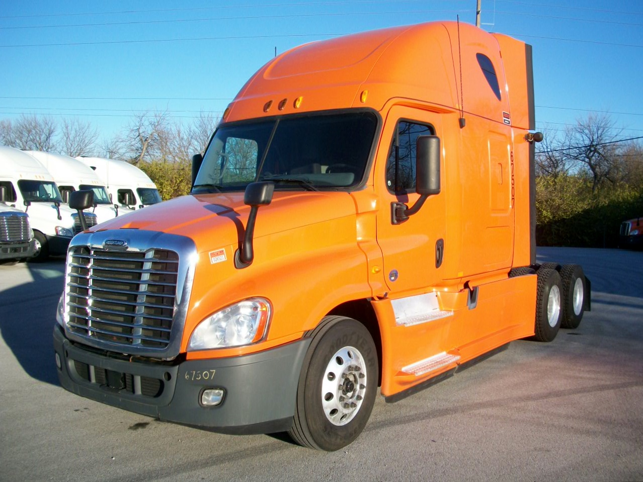 USED 2013 FREIGHTLINER CASCADIA DAYCAB TRUCK #105172
