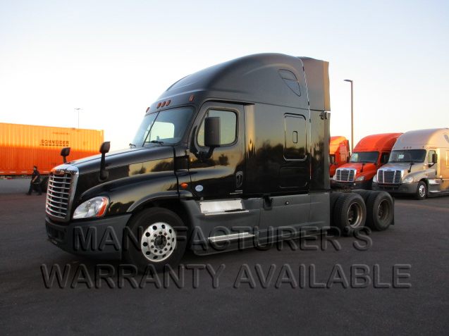 USED 2016 FREIGHTLINER CASCADIA SLEEPER TRUCK #134490
