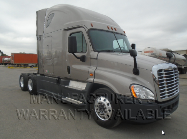 USED 2016 FREIGHTLINER CASCADIA SLEEPER TRUCK #134486