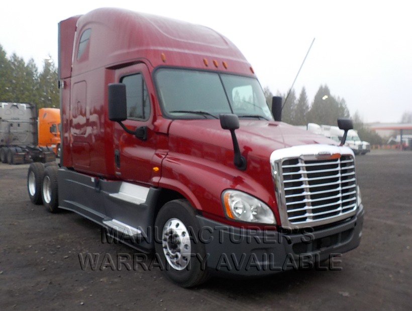 USED 2017 FREIGHTLINER CASCADIA SLEEPER TRUCK #83871