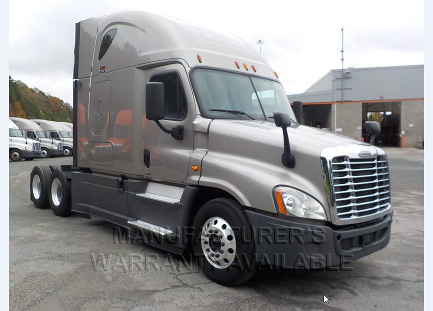 USED 2016 FREIGHTLINER CASCADIA SLEEPER TRUCK #135444