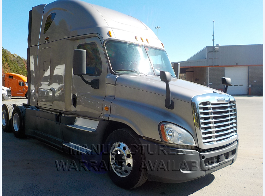 USED 2014 FREIGHTLINER CASCADIA SLEEPER TRUCK #135935