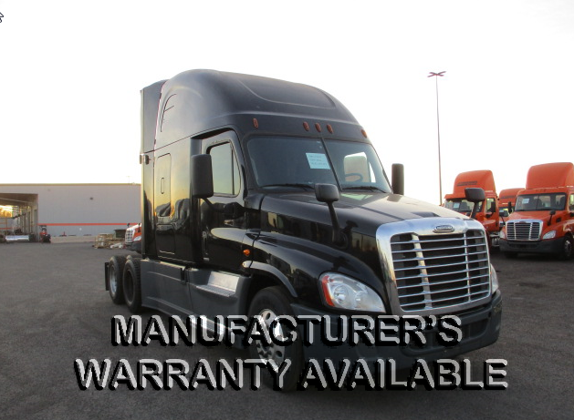 USED 2016 FREIGHTLINER CASCADIA SLEEPER TRUCK #135094