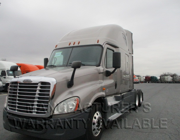 USED 2014 FREIGHTLINER CASCADIA SLEEPER TRUCK #136128