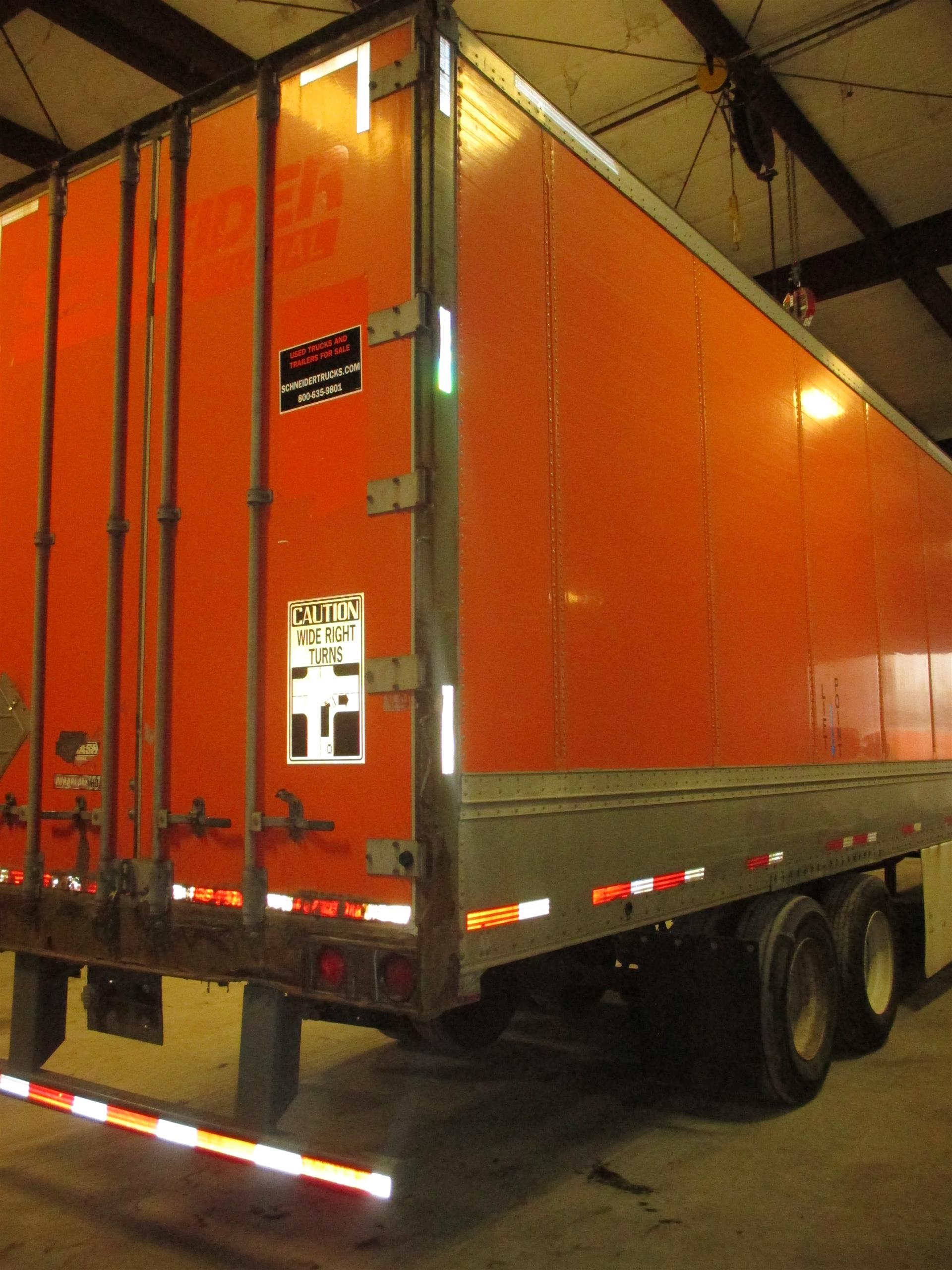 2007 Wabash Van for sale-59107803