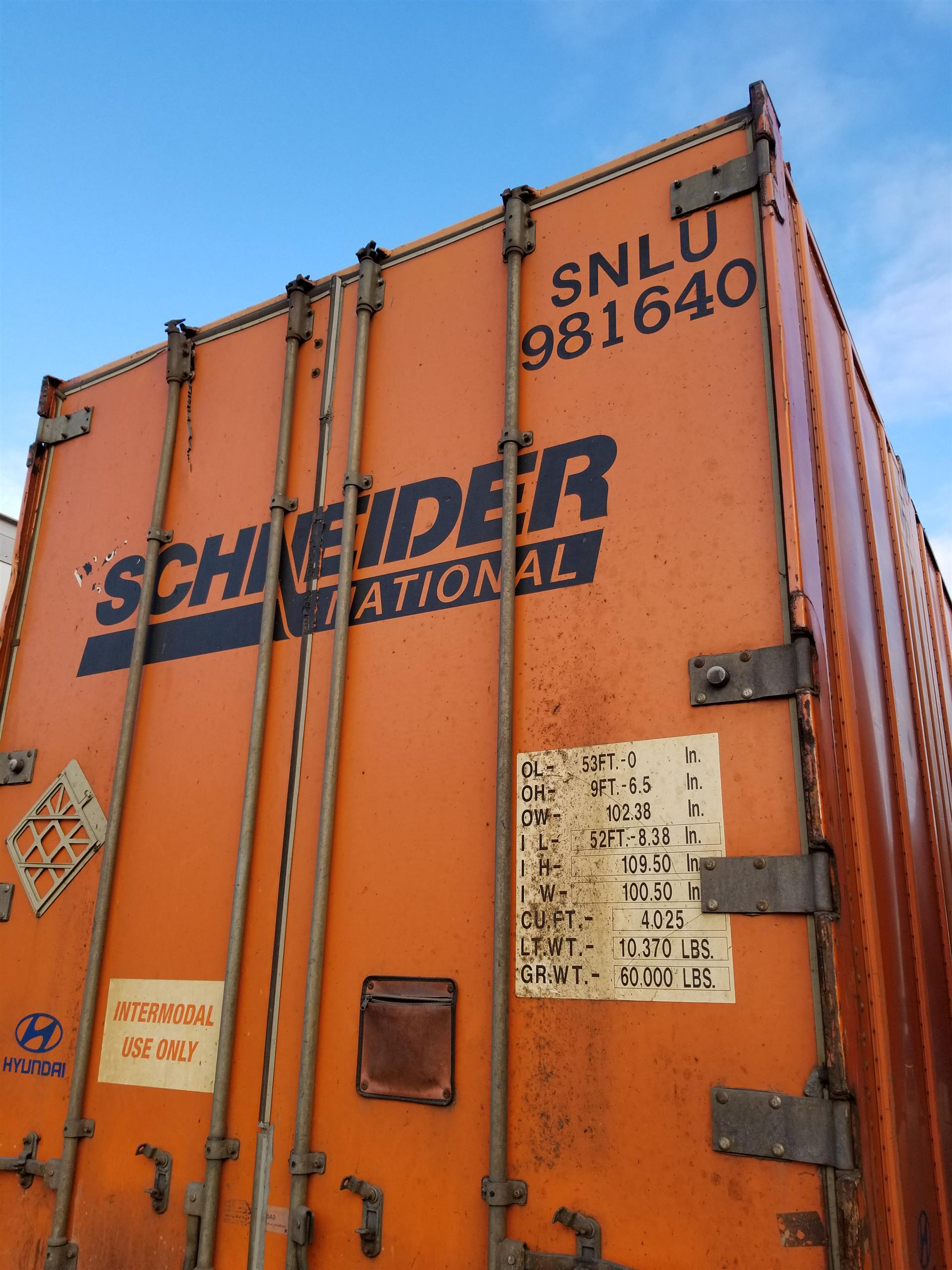 2006 Hyundai Container for sale-59085863