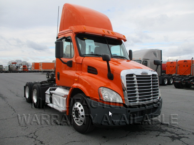 USED 2014 FREIGHTLINER CASCADIA DAYCAB TRUCK #84021
