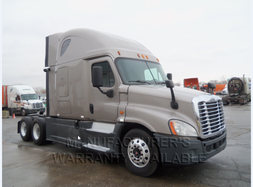 USED 2014 FREIGHTLINER CASCADIA SLEEPER TRUCK #136232