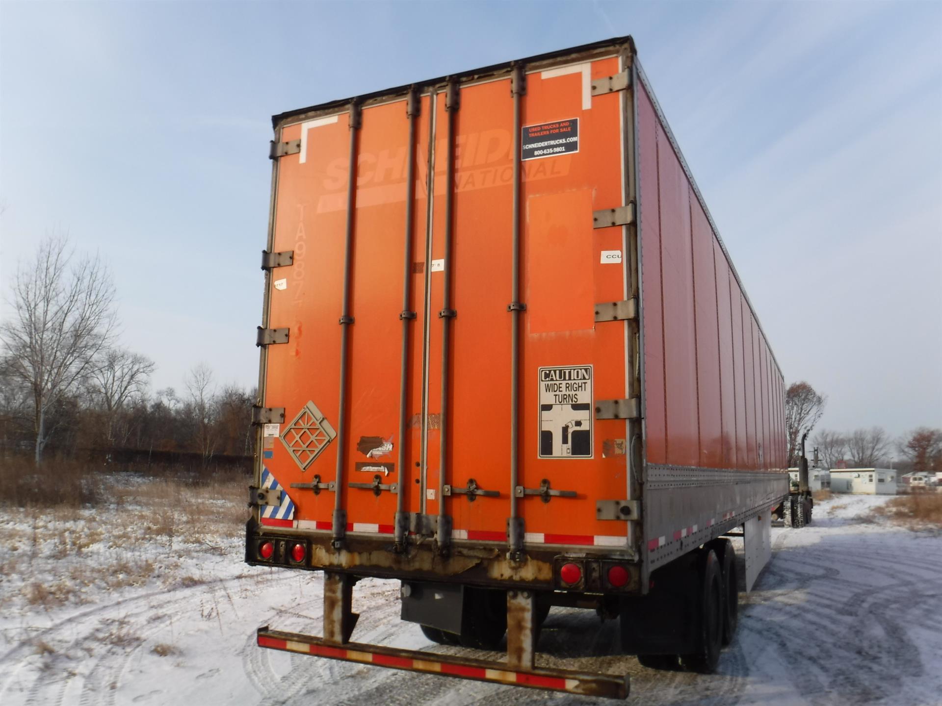 2007 Wabash Van for sale-59087903