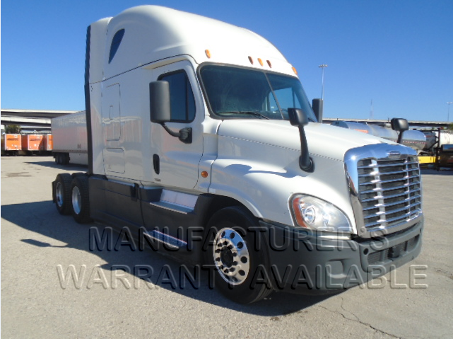USED 2014 FREIGHTLINER CASCADIA SLEEPER TRUCK #135964