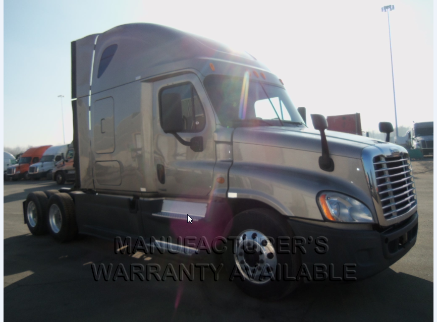 USED 2014 FREIGHTLINER CASCADIA SLEEPER TRUCK #84478