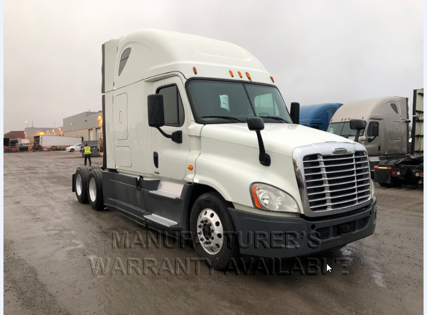 USED 2015 FREIGHTLINER CASCADIA SLEEPER TRUCK #136947
