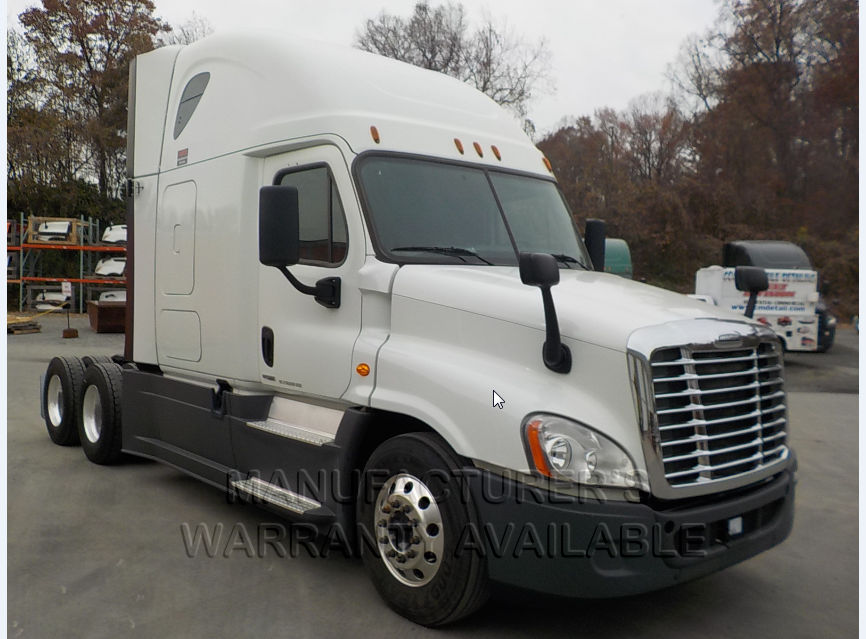 USED 2016 FREIGHTLINER CASCADIA SLEEPER TRUCK #136933