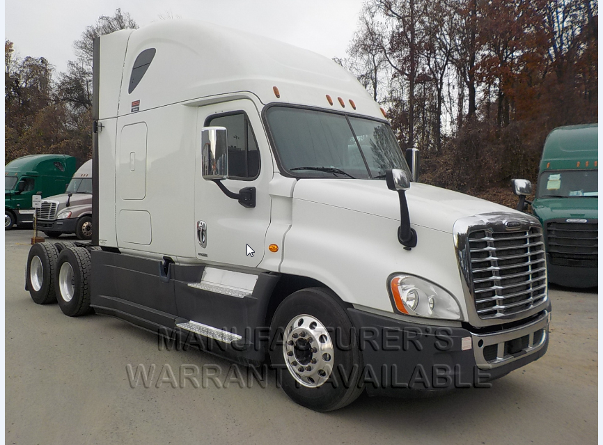 USED 2016 FREIGHTLINER CASCADIA SLEEPER TRUCK #136934