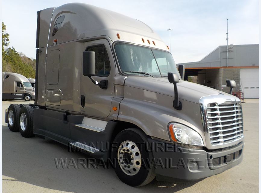 USED 2016 FREIGHTLINER CASCADIA SLEEPER TRUCK #136935