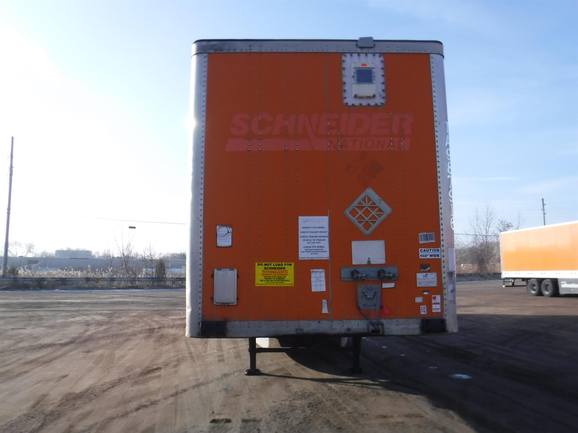 2007 Wabash Van for sale-59101576