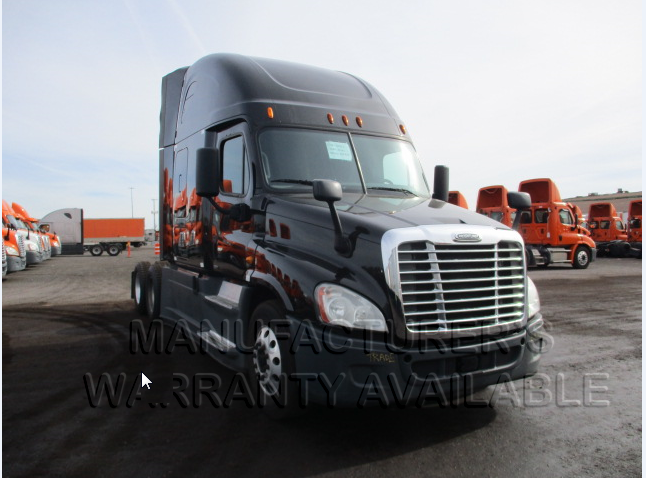 USED 2014 FREIGHTLINER CASCADIA SLEEPER TRUCK #138540