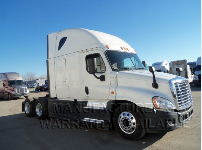 USED 2015 FREIGHTLINER CASCADIA SLEEPER TRUCK #84481