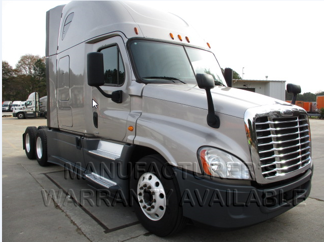 USED 2015 FREIGHTLINER CASCADIA SLEEPER TRUCK #138482
