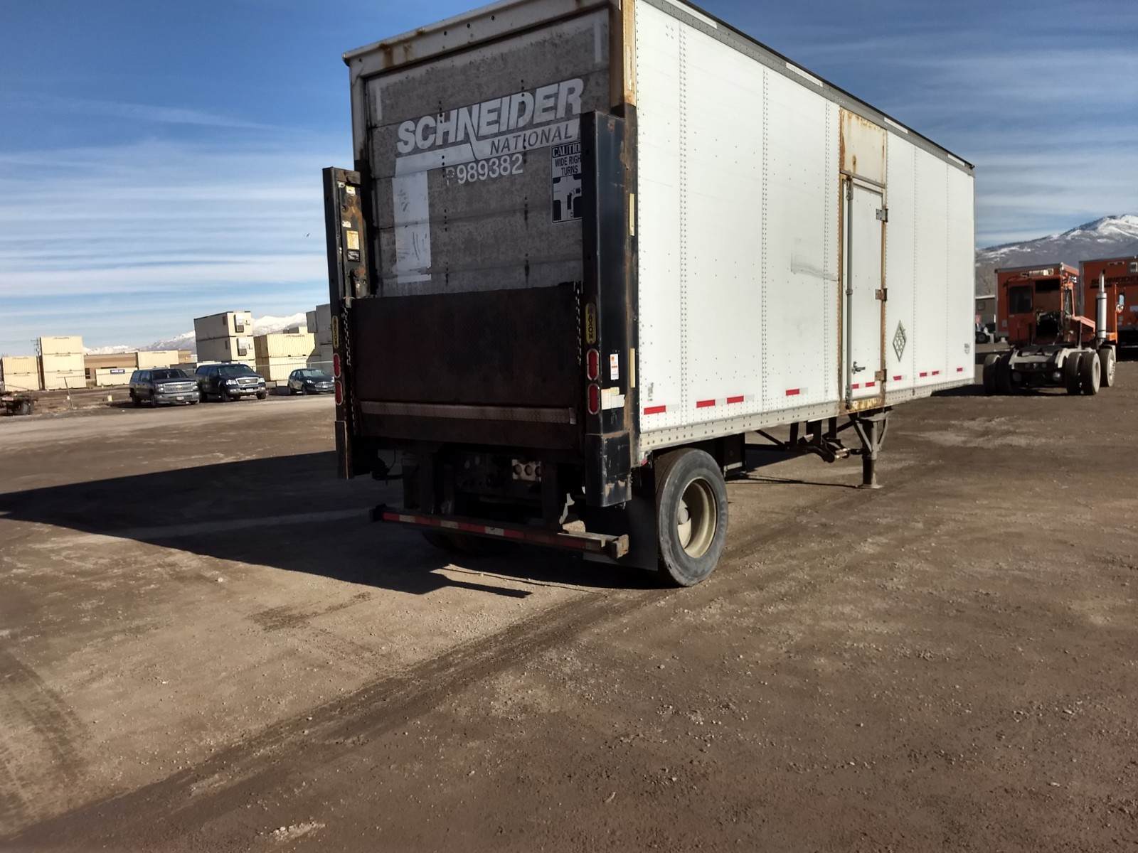 2008 Wabash Lift Gate for sale-59124133